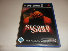 PlayStation 2 PS 2 second Sight