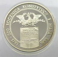 POLAND 200000 ZLOTYCH 1991 PROOF #alb38 449