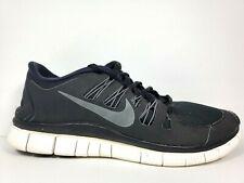 Nike Free Run 5.0 Mens Size 9.5 Running Shoes Black White Dark Grey 579959 002