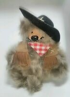 Kimbearly's Originals Teddy Bear Kim Hunt Sheriff Marshall 8""