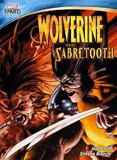 MARVEL KNIGHTS WOLVERINE VS SABRETOOTH New Sealed DVD Motion Comic