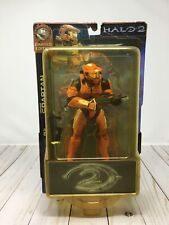 Halo 2 Orange Spartan with Battle Rifle and SMG - Joyride Studios SEALED T1