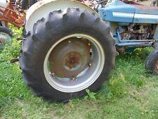 Firestone Fampr F151 136 X 28 Rear Tractor Tire 75 Tread Ford 4000 Rear Rim