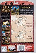 Lotr The Two Towers. Aragorn w/ Arrow Launching Action. Half-Moon Package