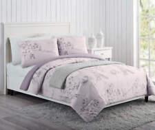 NWT Paris Purple, Pink & Gray Full/Queen 4-Piece Comforter Set