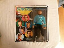 UNPUNCHED Star Trek MEGO 6 Face 1974 SPOCK Action Figure RARE Mint On Card MOC