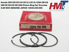 HONDA cb125 S cl125 tl125 sl125 Piston Anneau Set Size STD P//N 13011-330-005 NOS