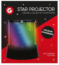 Amazing LED Star Light Colour Changing Projector Childrens Night Light Bedroom
