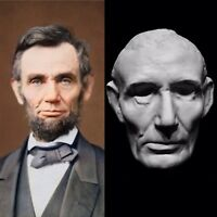 Abraham Lincoln Life Mask Life Cast Completed In 1860 by Leonard Volk.Very Rare!