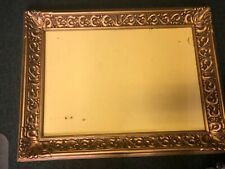 """Large Gold Ornate f""""32x24"""" Rectangle  Frame only Wall, NO Mirror, Burwood # 460"""