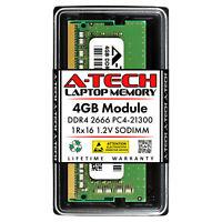 4GB PC4-21300 SODIMM Memory RAM for Dell Latitude 5290 (SNPKN2NMC/4G Equivalent)