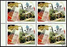 CHILE, LAW N° 20.000, MNH, BLOCK OF 4, YEAR 2005 SCOTT 1442