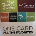 Gift Card $30 Olive Garden Longhorn Stake Yard House Bahama Breeze Seasons 52 For Sale