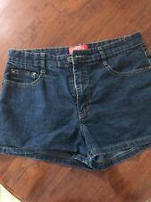 Women's Jeanbay Dark Denim Stretch Shorts Size 10 Petite
