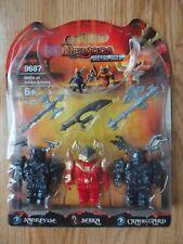 Rare Mega Bloks Dragons Metal Ages BATTLE AT ODAKU ARMORY #9687 - New/Sealed