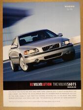 2001 Volvo S60 T5 vintage print Ad