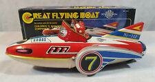 Great Flying Boat MF742 Tin Toy, Friction Toy, Boxed, Collectable