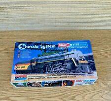 Monogram Snap Tite HO Chessie Hudson Steam Locomotive #1106 Kit