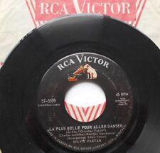 SYLVIE VARTAN La Plus Belle Pour Aller Danser / Gong CANADA ORIG 1964 RCA 45