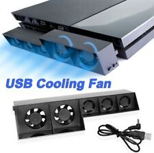 Cooling Stand Fan Charging Dock With USB Ports For PS 4