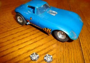 1/32 Slot Car Strombecker Cheetah with Brass Chassis - Used