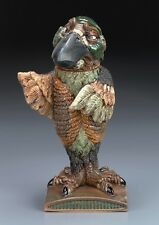 BURSLEM POTTERY GROTESQUE BIRD DEFENDER STONEWARE INSPIRED BY MARTIN BROTHERS