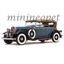 SUN STAR 6161 1932 FORD LINCOLN KB TOP UP 1/18 DIECAST MODEL CAR BLUE