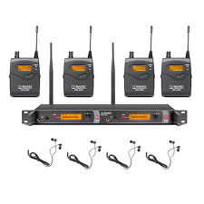 In Ear Monitor System! 4 receivers Monitoring SR2050 Type for stage with MONO
