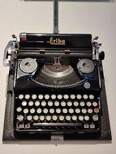 """Alte Koffer-Schreibmaschine """"Naumann Erika""""-1936, funktionsfähig, guter Zustand"""