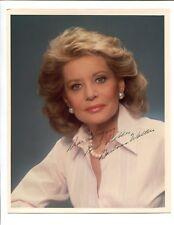Barbara Walters Famous Anchor News Woman Signed 8x10 Photo Jsa/Psa Guarantee