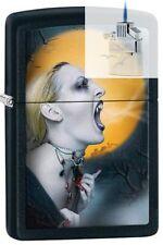 Zippo 28435 screaming vampiress Lighter & Z-PLUS INSERT BUNDLE