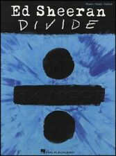 Ed Sheeran Divide Piano Vocal Guitar Sheet Music Book Castle On the Hill Eraser