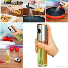 Kitchen Transparent Oil Sprayer Olive Mister Spray Pump Fine Bottle Cooking Tool