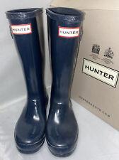 Kids Navy Hunter Wellies UK Size 1