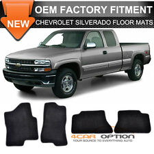 Fit 00-06 Chevy Suburban Tahoe 00-07 Chevy Silverado Floor Mats Front & Rear 4PC