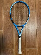 Babolat pure drive, Grip Size 4 1/4. String pattern 16 Main 19 Crosses.