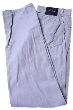 Paul Smith Jean Homme W34 L34 en coton gris droite