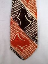 Vintage Men's Rayon Swing Tie