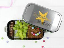 Butterbrotdose Bodderbroot und Namen personalisiert BPA-frei