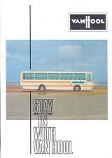1976 Van Hool Volvo Scania Ford Transit Bus Brochure wk862-8YW1PX