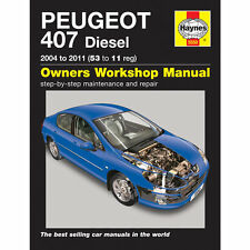 buy peugeot 407 car manuals and literature ebay rh ebay co uk Peugeot 406 2.1 Manual Peugeot 406 Manual- Engine