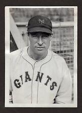 1934 LEFTY O'DOUL Vintage Baseball Photo, CLASSIC BEAUTY!