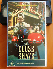WALLACE & GROMIT - A CLOSE SHAVE - VHS