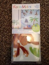1 RoomMates RMK1676SCS Monkeys Peel & Stick Wall Decals
