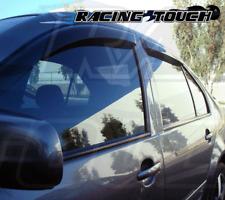 Rain Guards Sun Visor 2.0 MM Outside Mount 4pc 2009-2014 Subaru Legacy B4 5 Door