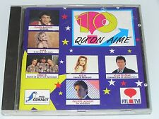 10 QU'ON AIME CD 18T Chanson CD 1991 Adamo,Claude Barzotti,Marie,Alain Delorme