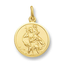 St. Christopher Yellow gold Saint Christopher Pendant 17mm