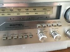 Rotel RX-803 Receiver Tech Serviced Sounds Fantastic 70w/ch 1977 Vintage 2 Phono