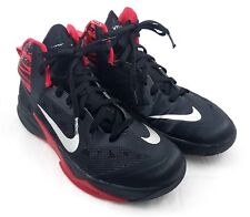 Nike Zoom Hyperfuse 2013 Men's Basketball Shoes Size 9.5 Black Red  Adaptive Fit