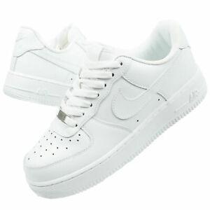 2021 NK AIR FORCE 1 '07 Low 315122-111 Bianco Sneaker Scarpe da ginnastica **